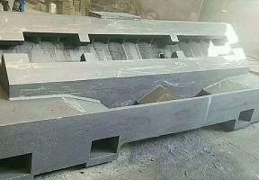 树脂砂型机床铸件